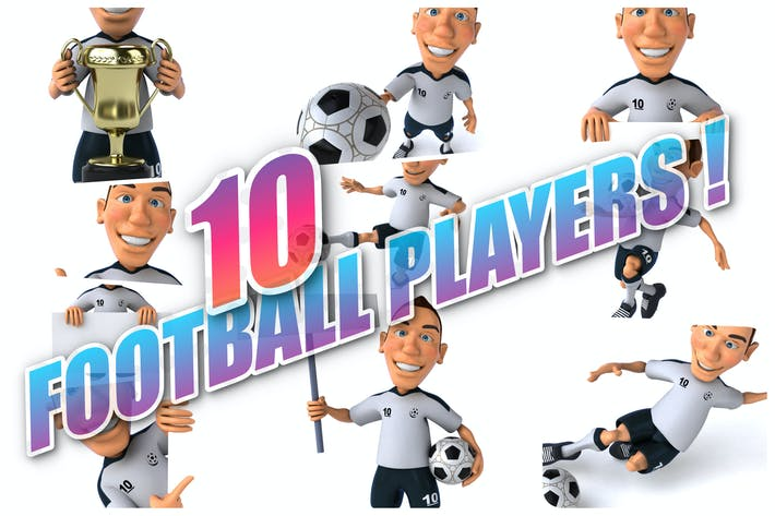 Thumbnail for 10 fun Football Players !