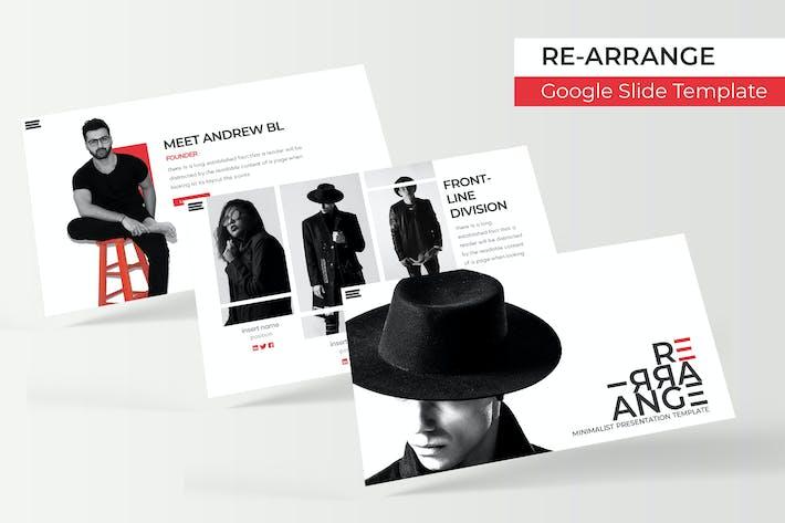 Thumbnail for RE-Organizar - Plantilla de Presentación de Google