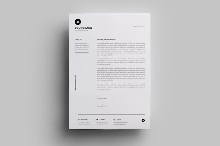 Thumbnail for Letterhead Design Templates.22