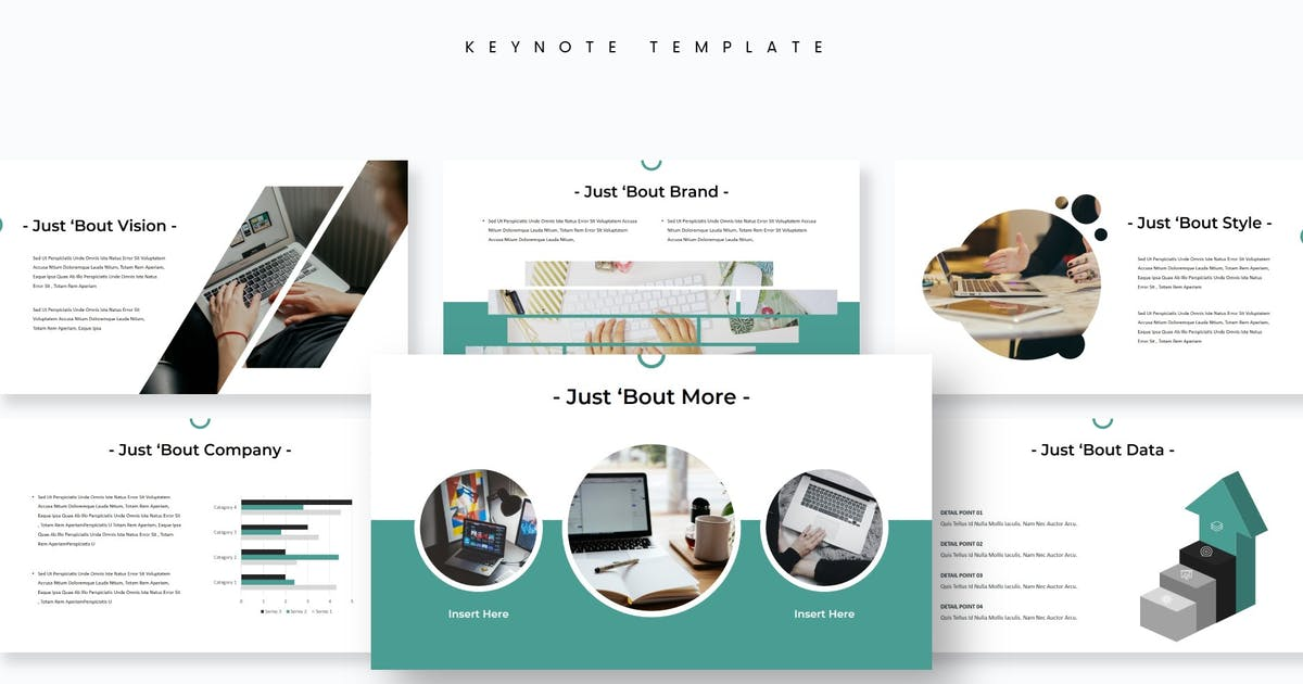 Download Minibiz - Keynote Template by aqrstudio