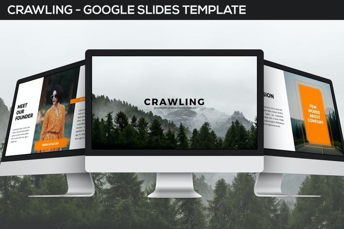 Thumbnail for Crawling - Google Slides Template