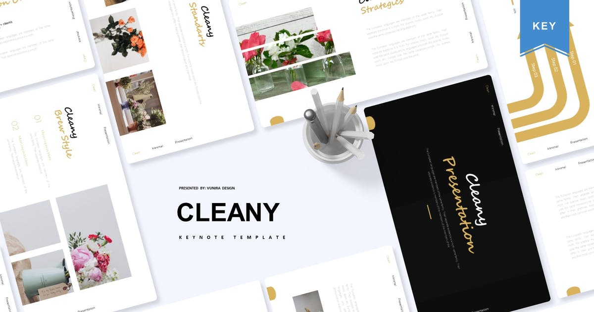 Download Cleany | Keynote Template by Vunira