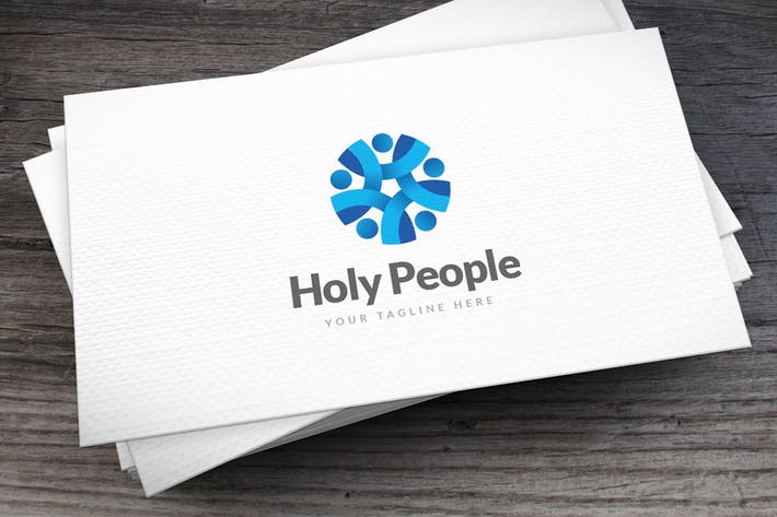 Thumbnail for Holy People Logo Template
