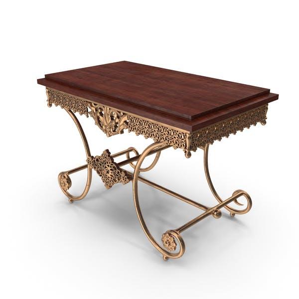 Vintage Table Metallic