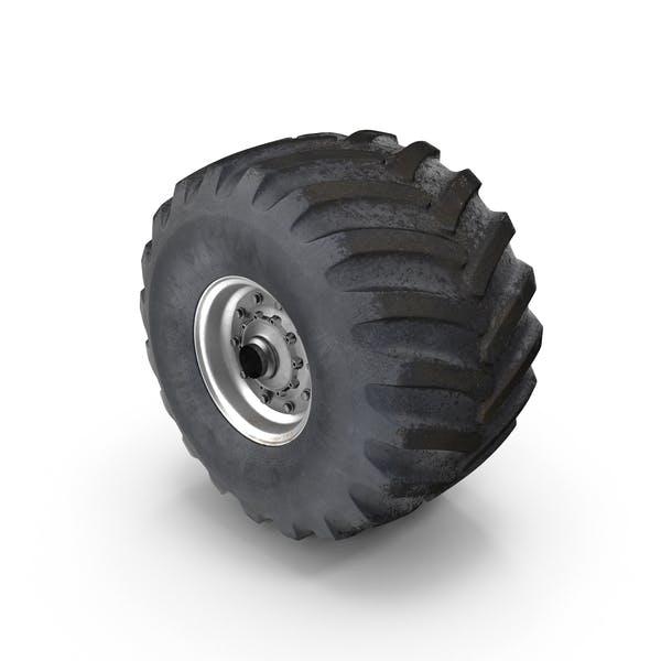 Thumbnail for Monster Truck Wheel
