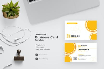 Awesome Business Card Template
