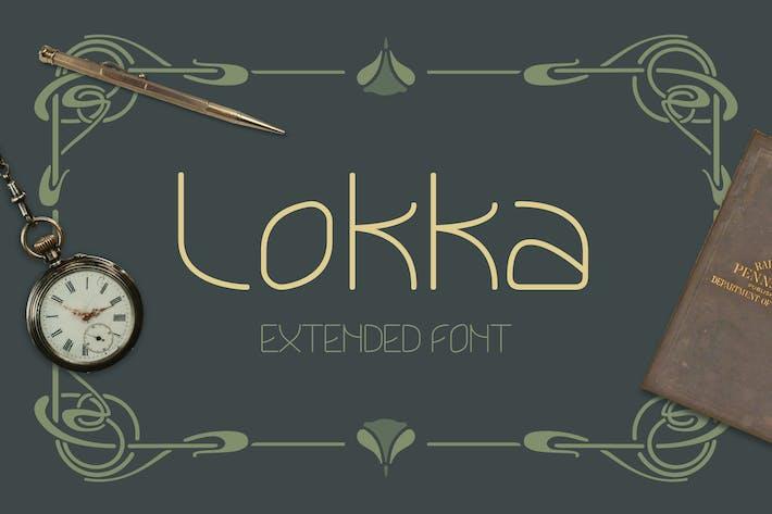 Thumbnail for Lokka Extended Font