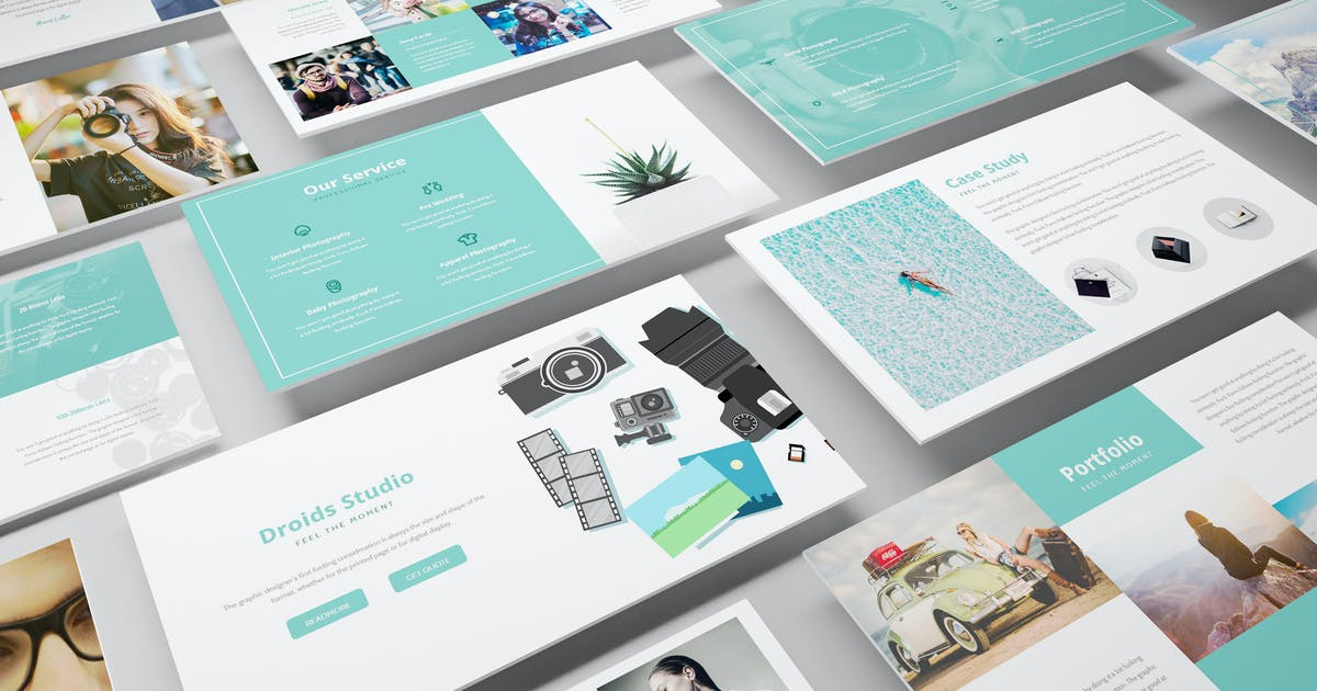 Download Photography Powerpoint Template by Unknow
