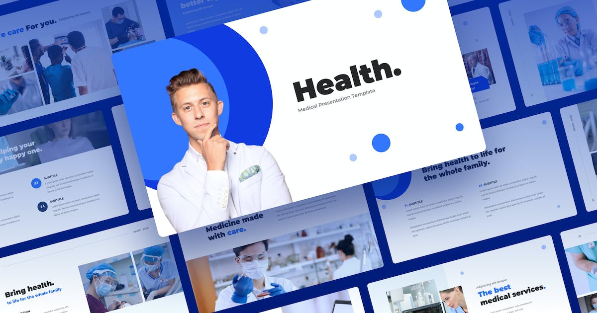Download Health - Medical Presentation Template by mhudaaa