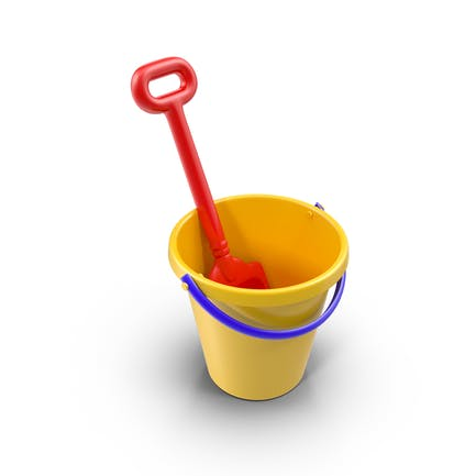 Toy Shovel and Bucket