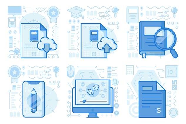 Download Ebook File UI UX Illustrations
