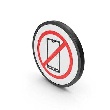 Icon No Mobile Phone