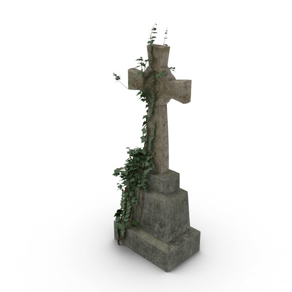 Thumbnail for Headstone with Cross