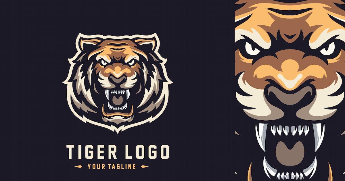 Download Tiger esport logo design by albert_kalingga