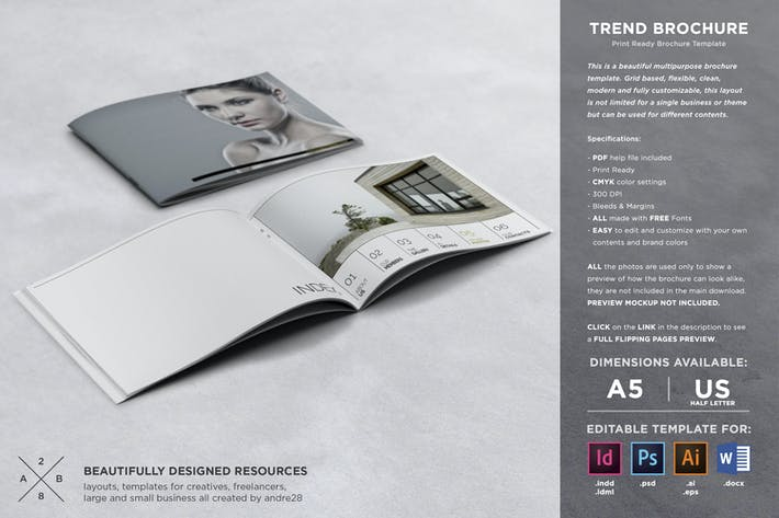 Thumbnail for Trend Brochure Template