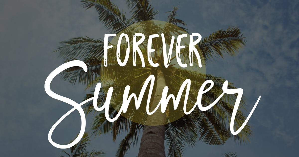 Download Forever Summer Font Duo by michael_gilliam