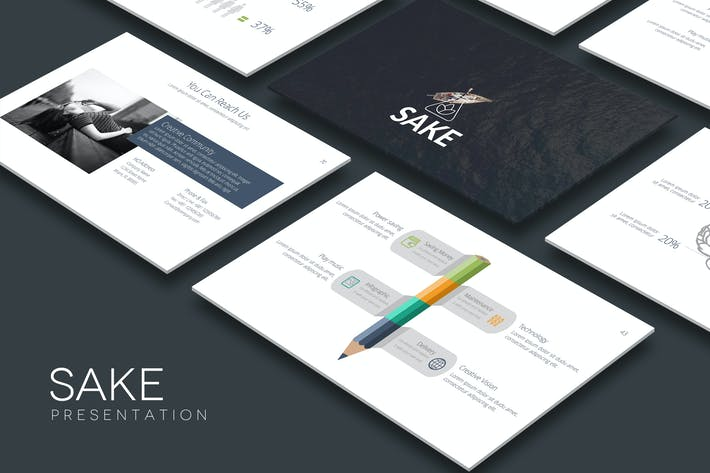 Thumbnail for SAKE Powerpoint Template