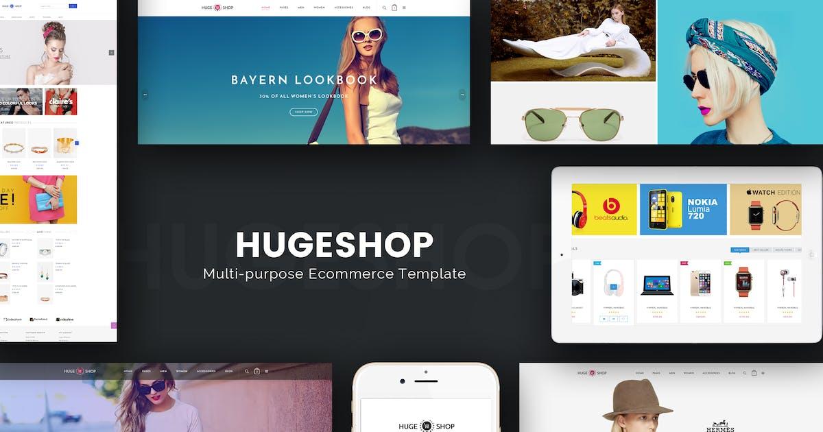 Download HugeShop - Wonderful Multi Concept Prestashop by Plaza-Themes