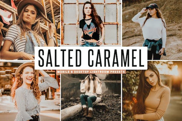 Thumbnail for Salted Caramel Mobile & Desktop Ajustes preestablecidos de Lightroom