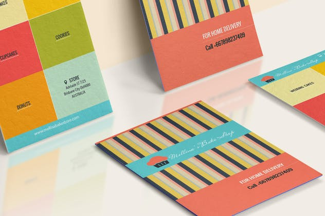 Bakery Shop Business Card - product preview 0