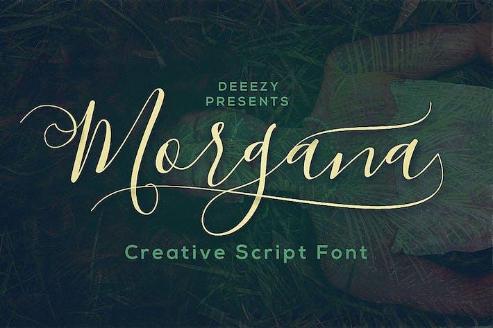 Thumbnail for Morgana Script Font