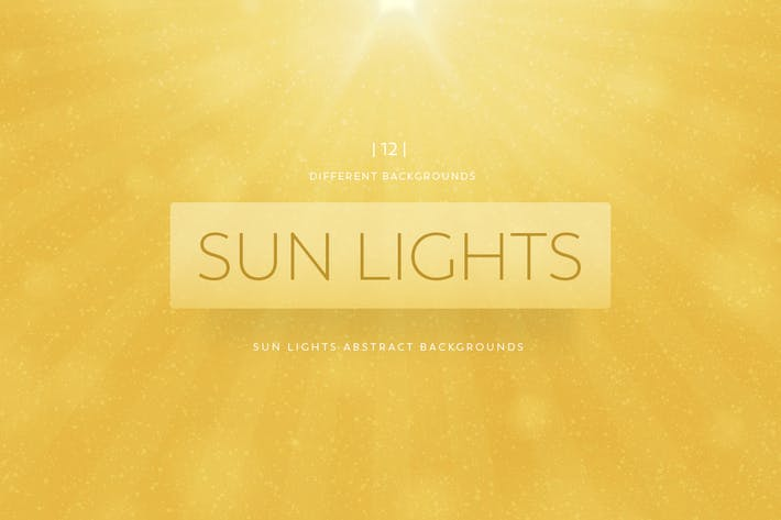 Thumbnail for Sun Lights Abstract Backgrounds