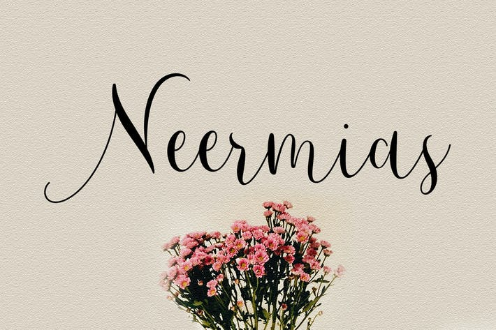 Cover Image For Neermias Modern Calligraphy