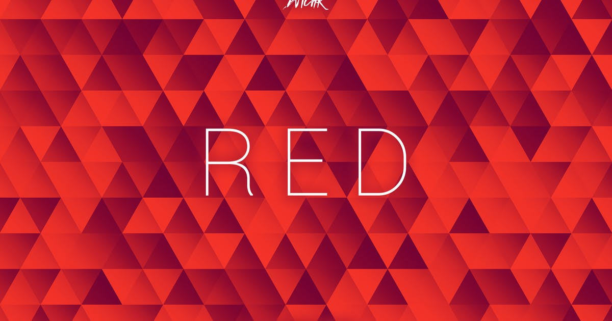 Download Red | Abstract Triangles Mosaic Backgrounds by devotchkah