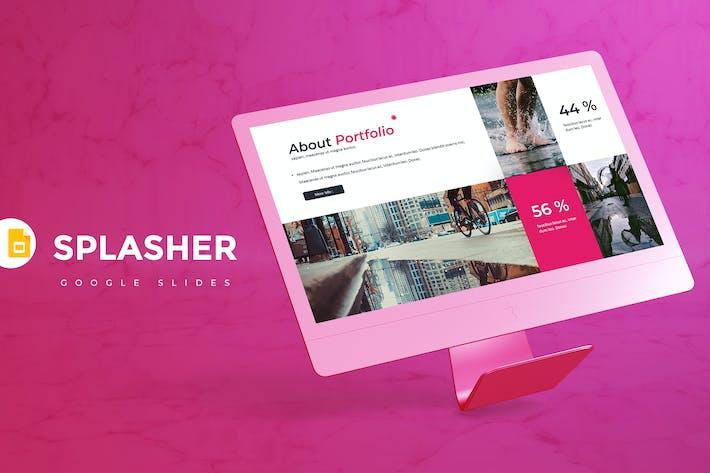 Thumbnail for Splasher - Google Slides Template