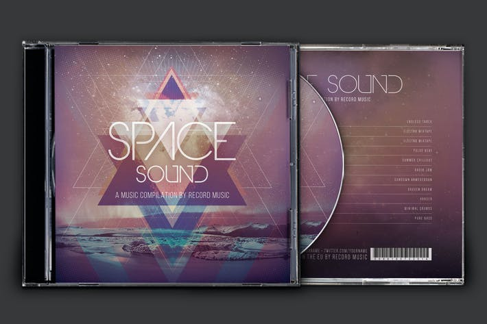 Thumbnail for Space Sound CD Cover Artwork