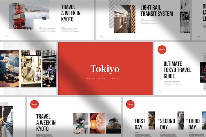 Thumbnail for Tokiyo - Minimale Präsentation