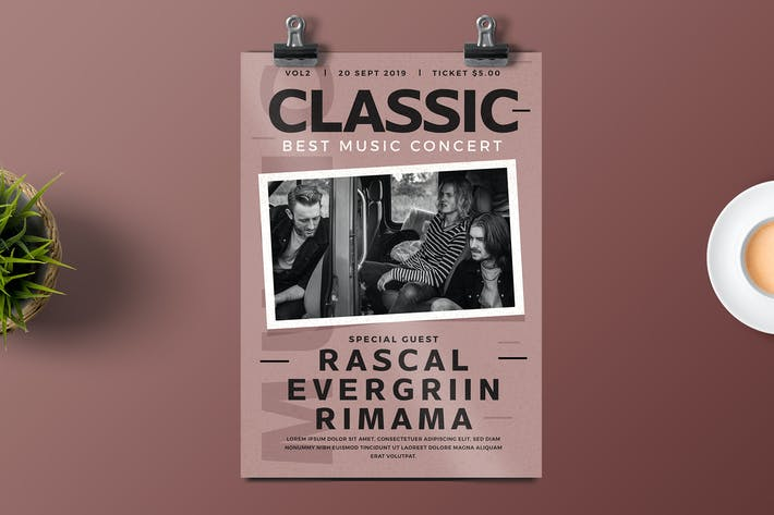Thumbnail for Classic Rock Flyer