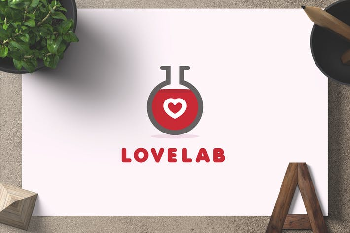 Thumbnail for Lovelab — Logo Template
