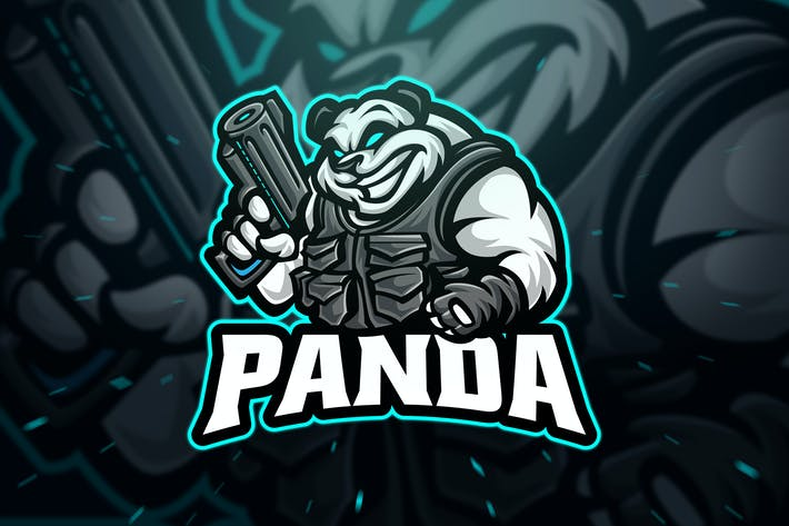 Thumbnail for Panda Sniper Sport and Esport Logo