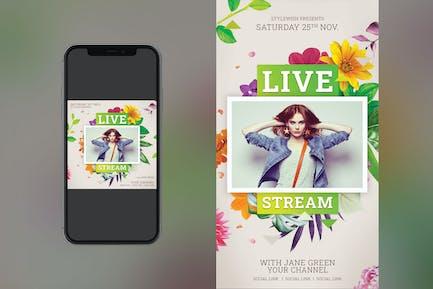 Live Stream Instagram Set