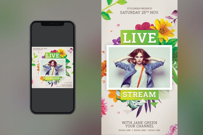 Thumbnail for Live Stream Instagram Set