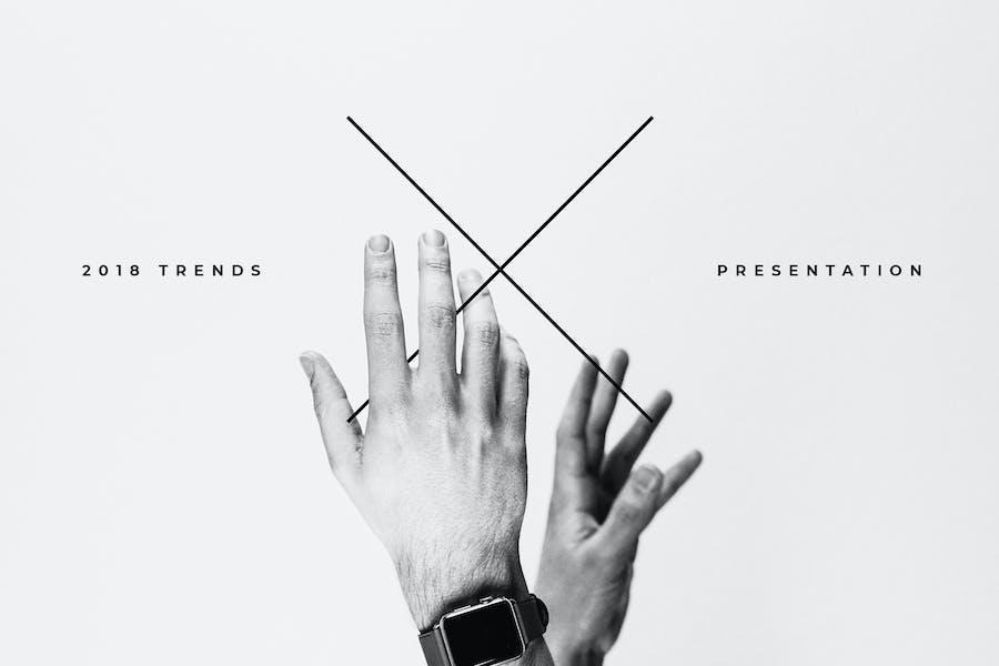 The X - Keynote Template