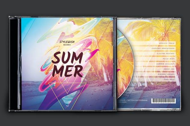 Summer CD Cover Artwork