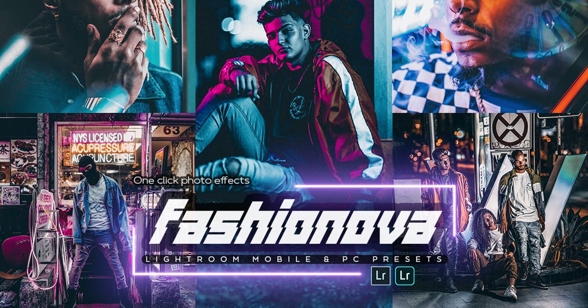 Download Fashionova Lightroom Presets by SupremeTones