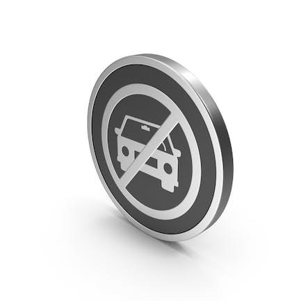 Silver Icon No Car