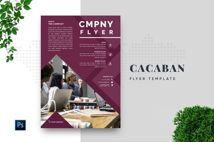 Thumbnail for Cacaban Professional Business Flyer
