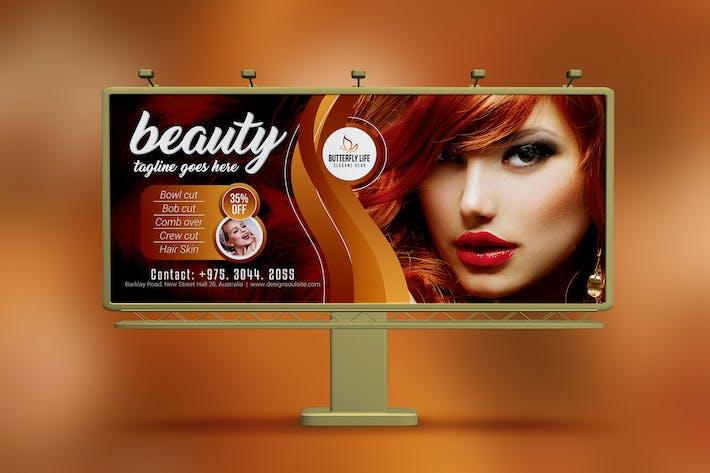 Thumbnail for Golden Beauty Salon Billboard