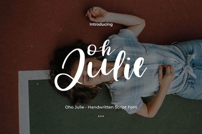 Thumbnail for Oho Julie - Handwritten Script Font