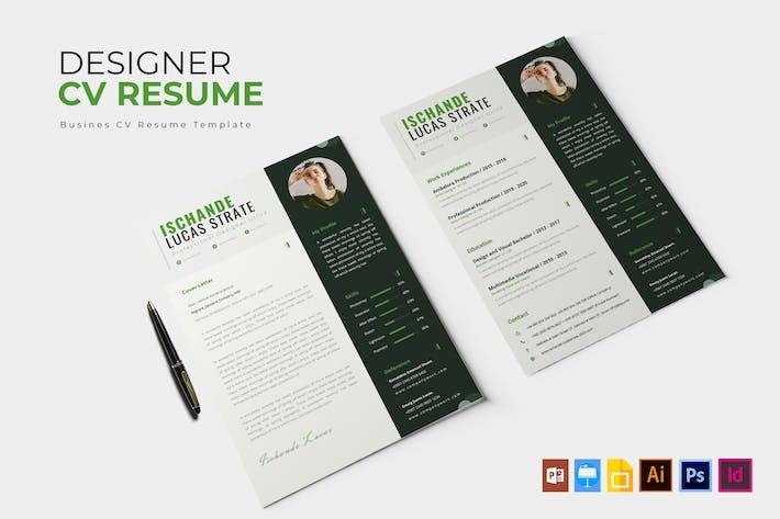 Thumbnail for Designer Project   CV & Resume
