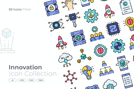 Innovation Filled Icon