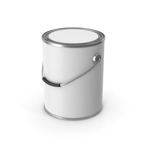 Thumbnail for Paint Metal Bucket White