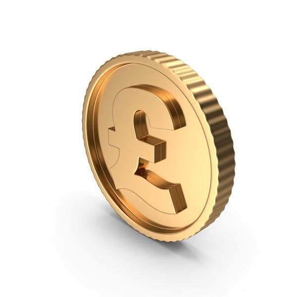 Golden Coin Pound Gold Dark