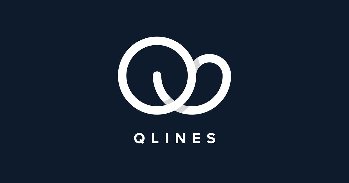 Download Q Lines Logo Template by Pixasquare