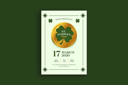 Saint Patrick Day Poster