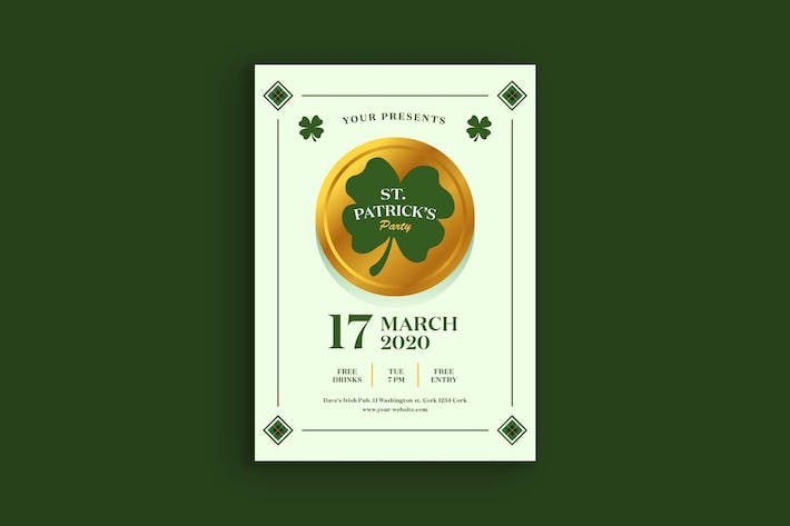 Thumbnail for Saint Patrick Day Poster
